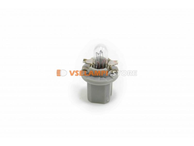 Лампа накаливания PROsvet B8.5d микрушка с патроном ВДО, цвет желтый, 1.2w, 24v, 1шт.