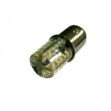 Светодиод К 24v S25 48SMD White силикон 3014 арт. 1156