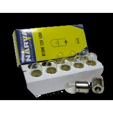 Авто-лампочка Narva R10W (BA15s), 1 конт, 12v, 10w, желтый