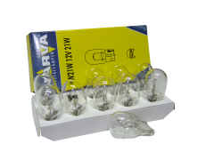 Авто-лампочка б/ц Narva W21W (W3x16d), 1 конт, 12v, 21w, желтый