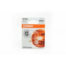 Галогенная лампа OSRAM W5W 12v (5w) W2,1-9,5d стеклянный цоколь 2825-02В