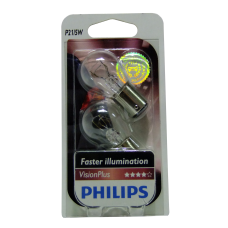Галогенная лампа PHILIPS Vision Plus P21/5W 12v 21/5w (BAY15d) (+50% света) 12499VPB2