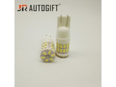 Светодиод JR Autogift 12v T10 30 SMD 3014 керамика белый