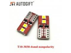Светодиод JR Autogift 12-18v T10 4 SMD 3030 белый