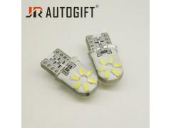 Светодиод JR Autogift 12v T10 12 SMD 3014 силикон белый