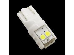 Светодиод JR Autogift 12v T10 6 SMD 3030 керамика белый