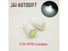 Светодиод JR Autogift 12v T10 1 SMD 7070 керамика белый