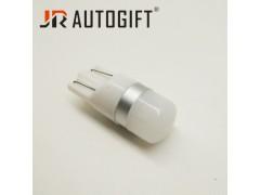 Светодиод JR Autogift 12v T10 2 SMD 2835 линза матовая белый