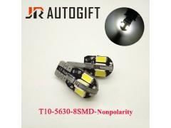 Светодиод JR Autogift 12v T10 8 SMD 5630 белый