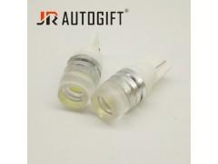 Светодиод JR Autogift 12v T10 1 HP LED вогнутая линза, 1.5W белый