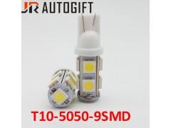 Светодиод JR Autogift 12v T10 9 SMD 5050