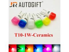 Светодиод JR Autogift 12v T10 1 SMD 1W керамика