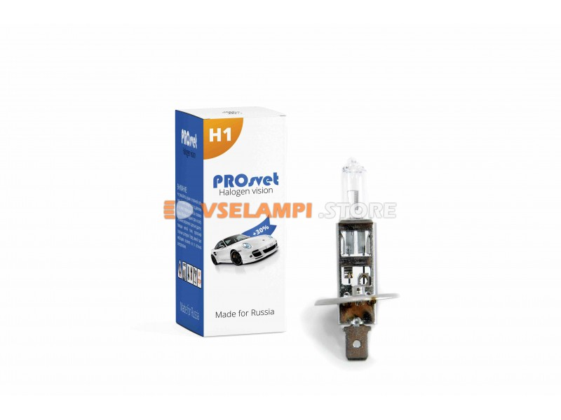 Галогенная лампа PROsvet Clear 24V - цоколь Тракторная 2к