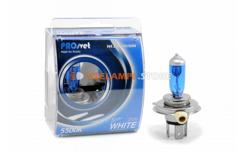Галогенные лампы PROsvet SuperWhite 24V комплект 2шт.