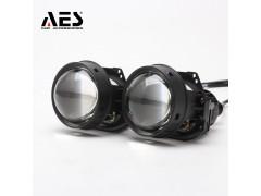 """Би-LED модуль AES LED Prosector-blue lens с переходниками под лампы H4,H7,H11 2,5"""" (к-т 2шт.)"""