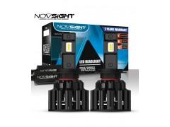 Сверх яркие светодиоды Novsight F06 6000k, комплект 2шт.