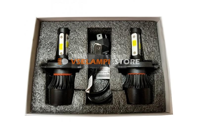 Сверх яркие светодиоды AVTODECOR 4S комплект 2шт. - цоколь H4