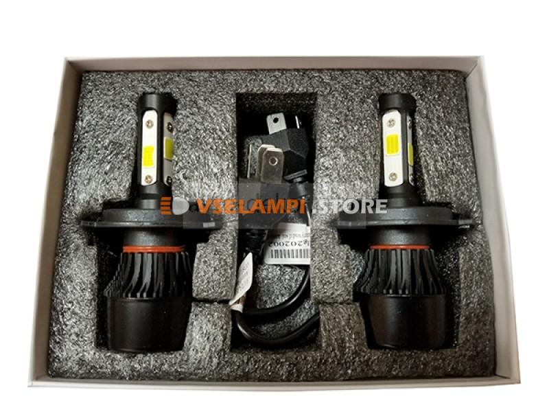 Сверх яркие светодиоды AVTODECOR 4S комплект 2шт.