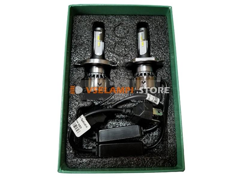Сверх яркие светодиоды AVTODECOR V2 трёх цветные комплект 2шт.