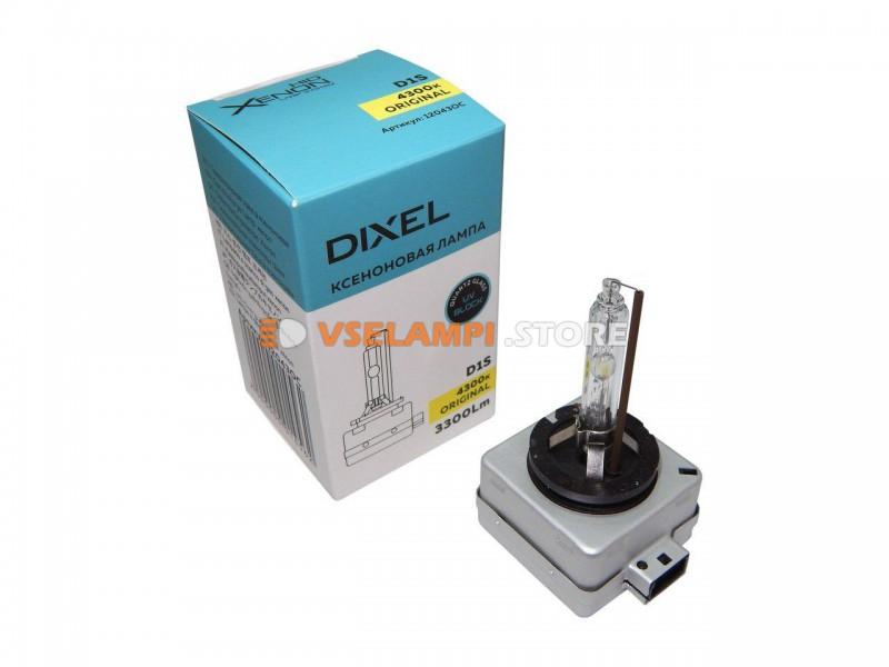 Фарная ксеноновая лампа DIXEL штатная 4300k 1шт. - цоколь D1R