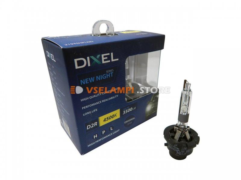 Фарная ксеноновая лампа штатная DIXEL HPL NEW NIGHT 4500k 2шт. - цоколь D3S