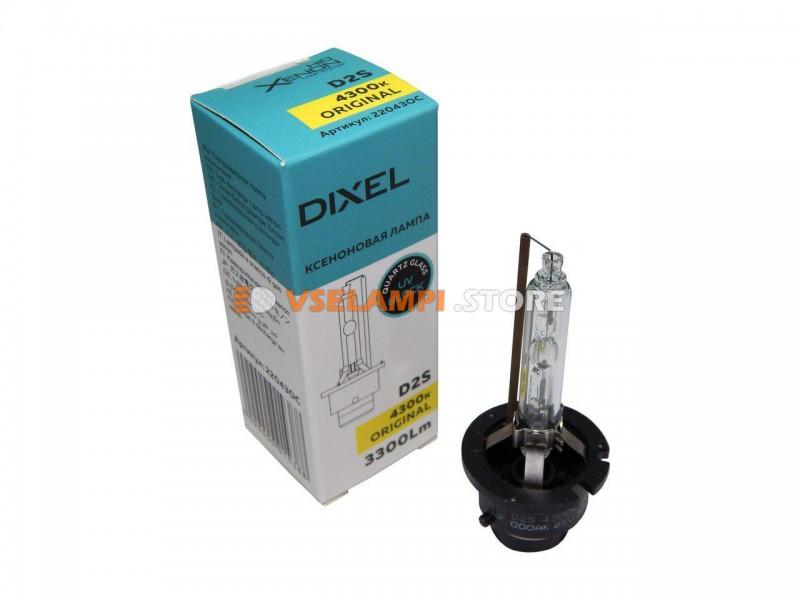 Фарная ксеноновая лампа DIXEL штатная 4300k 1шт. - цоколь D1S