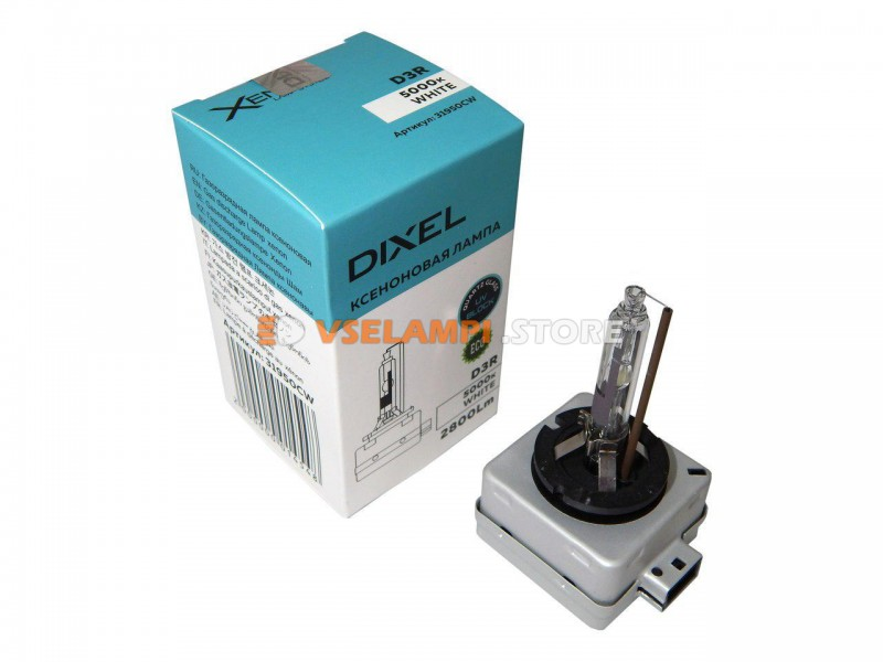 Фарная ксеноновая лампа DIXEL штатная 5000k 1шт. - цоколь D3S