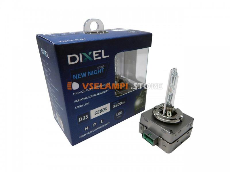 Фарная ксеноновая лампа штатная DIXEL HPL NEW NIGHT 5500k 2шт.