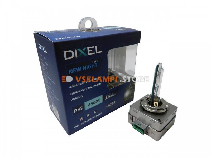 Фарная ксеноновая лампа штатная DIXEL HPL NEW NIGHT 6500k 2шт. - цоколь D1S