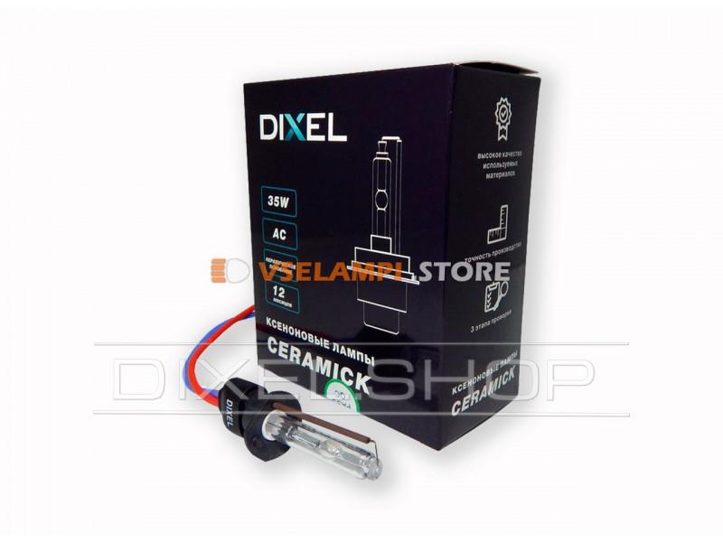 Ксеноновая лампа Dixel CN ceramick 6000K 1шт. - цоколь H1