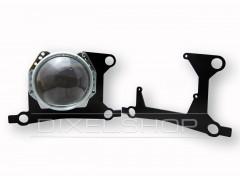 BMW 5 F10 до рестайлинга 2009-2013. Под линзы Hella 3R,5R