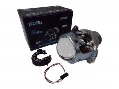 """Би-ксенон линза DIXEL FX-R V4 D 3.0"""" 1шт."""