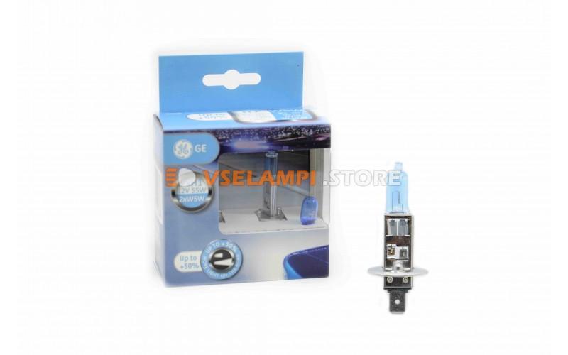 Галогенные лампы GE Sportlight +50% света комплект 2шт.