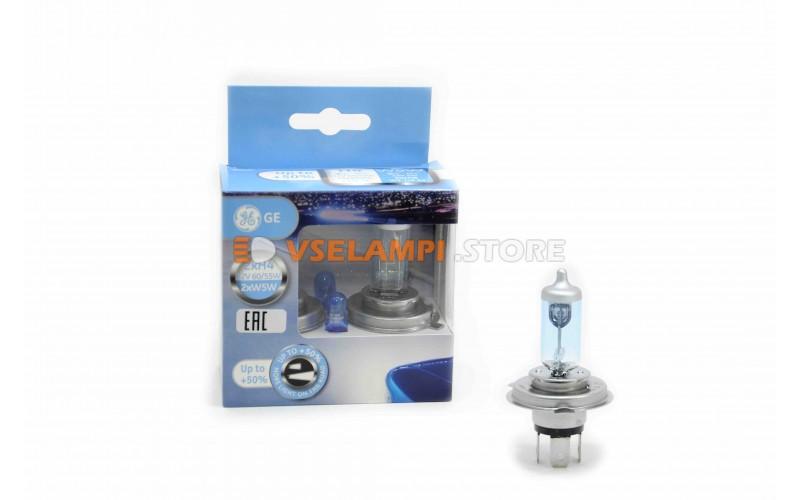 Галогенные лампы GE General Electric Sportlight +50% света комплект 2шт. - цоколь H4