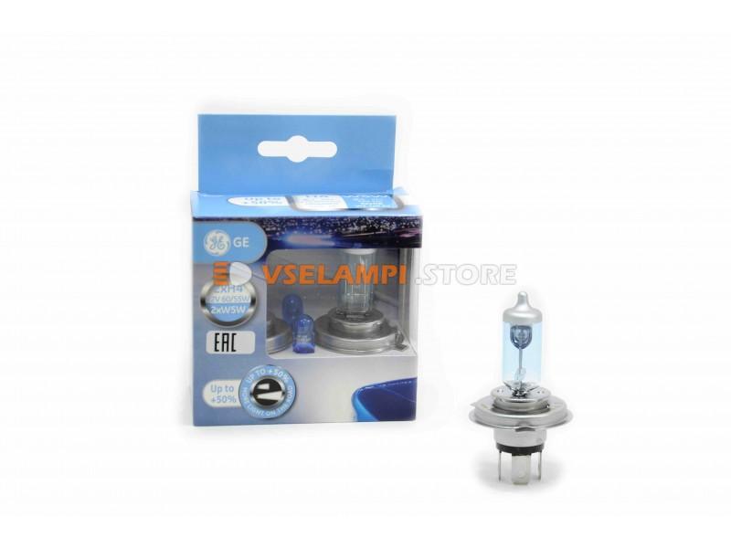 Галогенные лампы GE General Electric Sportlight +50% света комплект 2шт. - цоколь HB4