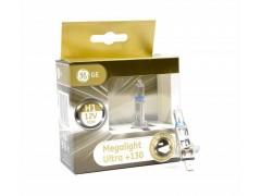 Галогенные лампы GE MEGALIGHT ULTRA +130% света комплект 2шт.