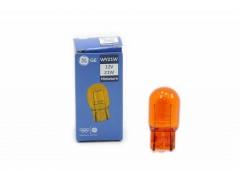 Авто-лампочка General Electric WY21W, 12v, WX3x16d, 21w, оранжевый, 7440NA