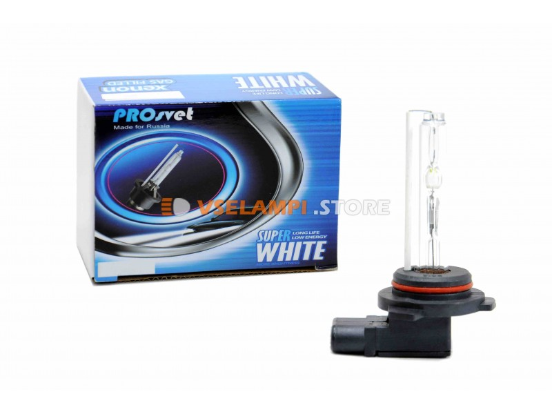 Ксеноновые лампы PROSvet не штатный 5000К комплект 2шт. - цоколь H4 + галоген