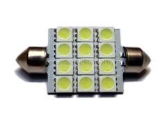 Светодиод 12vT11x41 AC 12SMD 5050 белый