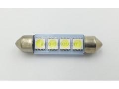 Светодиод 12vT11x42 AC 4SMD 5050 белый