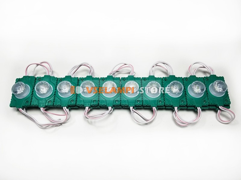 Светодиодный модуль 12v 1SMD 45*30мм, 1шт.