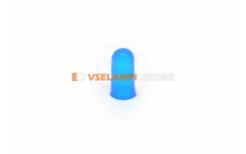 Колпачки под лампочки б/ц 1,2w мал. - цвет свечения синий