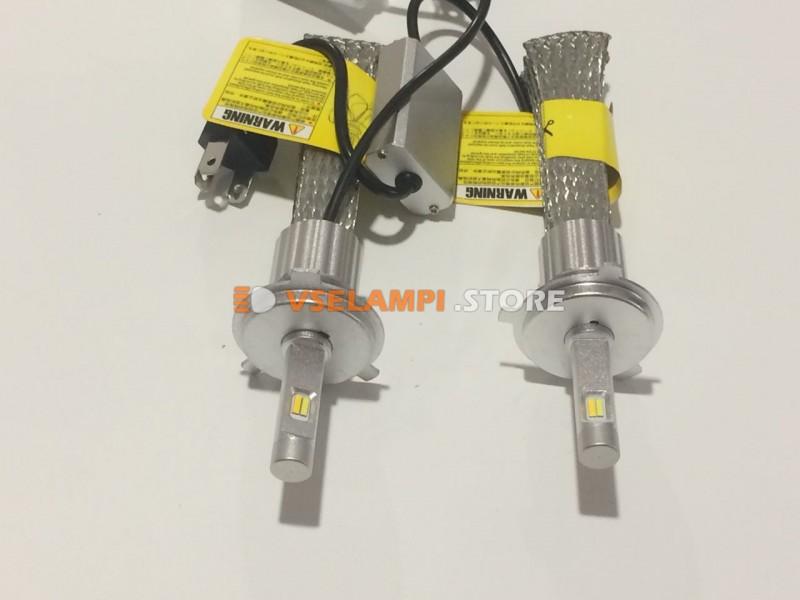 Светодиоды направленого свечения серия Avtodecor PH2, Белый+Желтый цвет комплект 2шт.