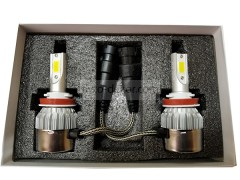 Сверх яркие светодиоды AVTODECOR C6 комплект 2шт.