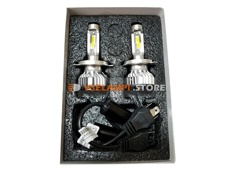 Сверх яркие светодиоды Avtodecor DOB mini 6000k комплект 2шт. - цоколь HB3