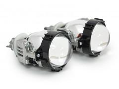 "Би-LED модуль AES A3 Universal с переходниками под лампы H4,H7,H11 2,5"" (к-т 2шт.)"