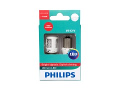 Светодиод PHILIPS P21W 12v-21w (BA15s) Ultinon LED RED 11498ULRX2 2шт