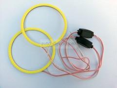 Светодиодные кольца COB d70мм 12-24V ком-т (2шт.)
