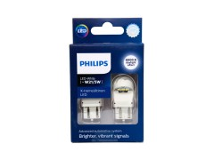Светодиод PHILIPS W21/5W 12v/24v (W3x16q) X-tremeUltinon LED gen2 11066XUWX2 2шт. белые