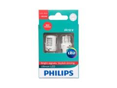 Светодиод PHILIPS T20/5 12V Ultinon LED RED (к-т 2шт.)